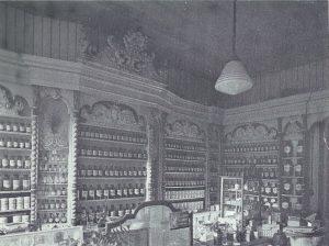 De apotheek zoals daar opgesteld